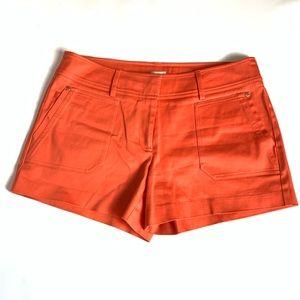 {CACHÉ} Orange Shorts Size 10